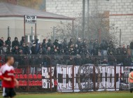 MECZ 16. KOLEJKA I LIGA SEZON 2014/15 --- POLISH FIRST LEAGUE FOOTBALL MATCH: DOLCAN ZABKI - SANDECJA NOWY SACZ 2:2