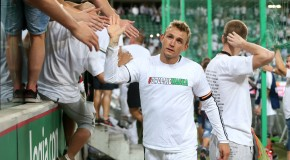 REWANZOWY MECZ IV RUNDA ELIMINACJI LIGA EUROPY SEZON 2015/16: LEGIA WARSZAWA - ZORIA LUGANSK 3:2 --- UEFA EUROPA LEAGUE SECOND LEG FOURTH ROUND QUALIFICATION MATCH: LEGIA WARSAW - ZORYA LUHANSK 3:2