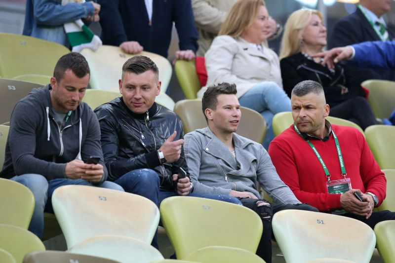 GDANSK 11.05.2016 MECZ 36. KOLEJKA EKSTRAKLASA SEZON 2015/16: LECHIA GDANSK - LEGIA WARSZAWA 2:0 --- POLISH FOOTBALL TOP LEAGUE MATCH: LECHIA GDANSK - LEGIA WARSAW 2:0 PIOTR WISNIEWSKI DANIEL WEBER MICHAL MAK SLAWOMIR WOJCIECHOWSKI FOT. PIOTR KUCZA/ 400mm.pl