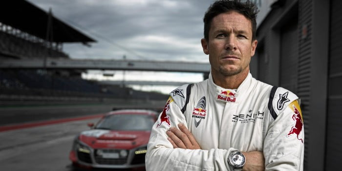 Felix Baumgartner Pretests R8LMS