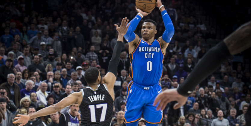 NBA Raport: Westbrook poza kontrolą