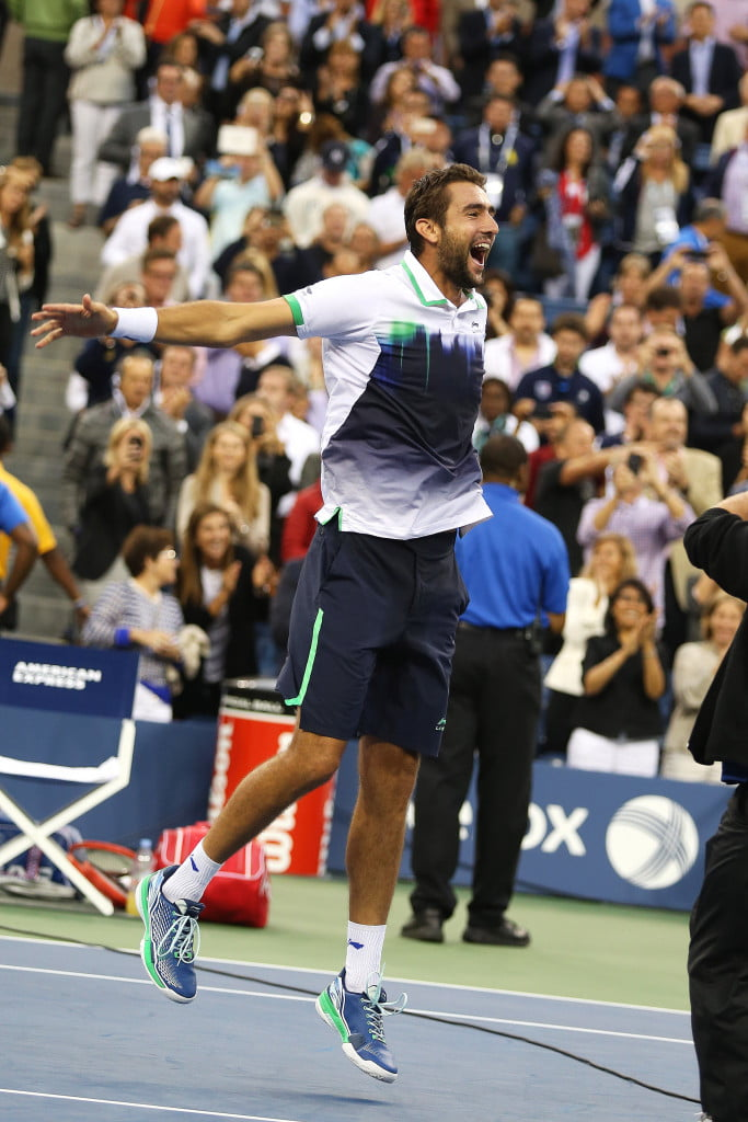 US OPEN 2014 NOWY JORK 08.09.2014 US OPEN TURNIEJ TENISOWY WIELKOSZLEMOWY FINAL MEZCZYZN MARIN CILIC CHORWACJA PRZECIWKO KEI NISHIKORI JAPONIA N Z MARIN CILIC MAREK JANIKOWSKI US OPEN 2014 NEW YORK 08.09.2014 US OPEN TENNIS TOURNAMENT MENS SINLES FINAL MARIN CILIC CROATIA AGAINST KEI NISHIKORI JAPAN ON PHOTO MARIN CILIC MAREK JANIKOWSKI / NEWSPIX.PL --- Newspix.pl *** Local Caption *** www.newspix.pl mail us: info@newspix.pl call us: 0048 022 23 22 222 --- Polish Picture Agency by Ringier Axel Springer Poland