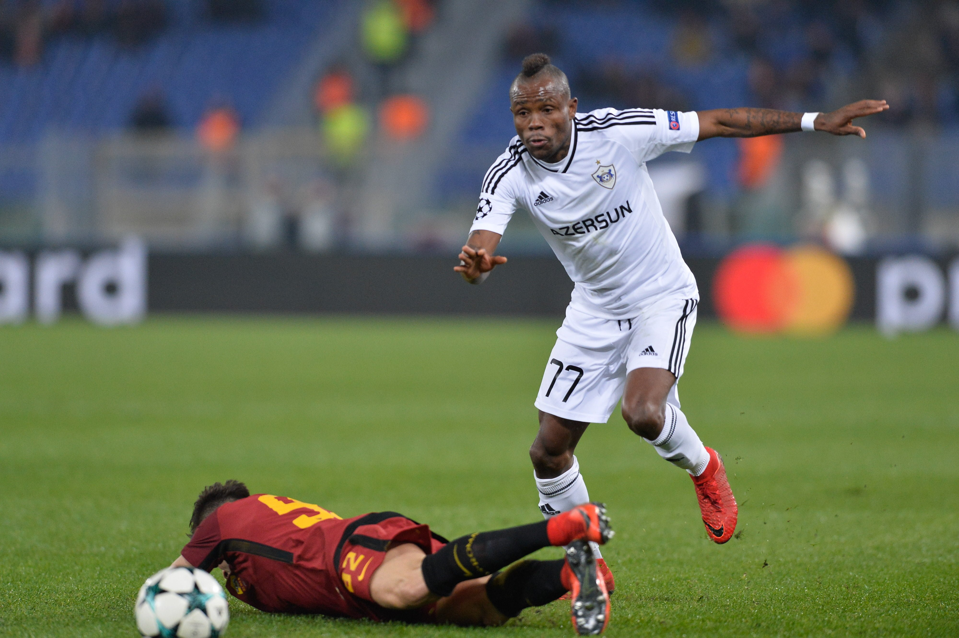 AS Roma v Qarabag FK - UEFA Champions League