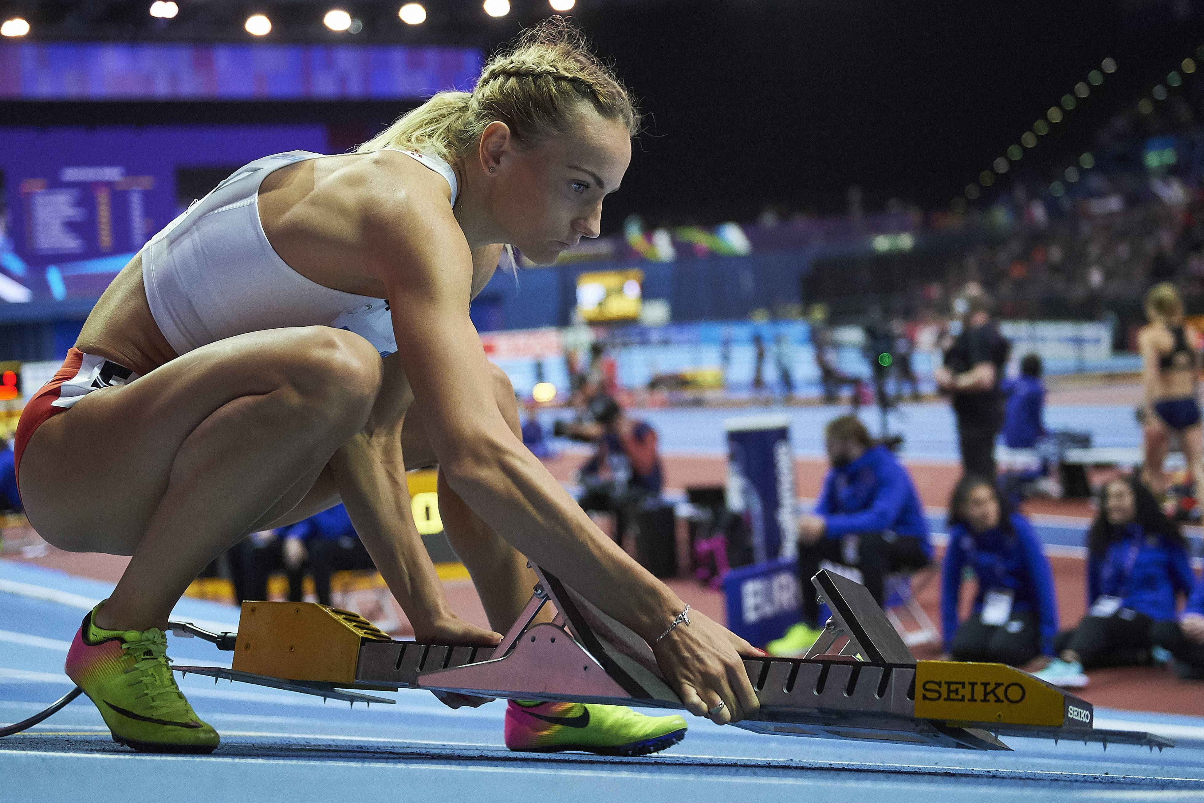 02.03.2018 BIRMINGHAM , WIELKA BRYTANIA , ARENA BIRMINGHAM , IAAF HALOWE MISTRZOSTWA SWIATA W LEKKIEJ ATLETYCE BIRMINGHAM 2018 ( IAAF WORLD INDOOR CHAMPIONSHIPS BIRMINGHAM 2018 ) 400 M KOBIET NZ. JUSTYNA SWIETY - ERSTERIC FOTO RADOSLAW JOZWIAK / CYFRASPORT / NEWSPIX.PL --- Newspix.pl *** Local Caption *** www.newspix.pl mail us: info@newspix.pl call us: 0048 022 23 22 222 --- Polish Picture Agency by Ringier Axel Springer Poland