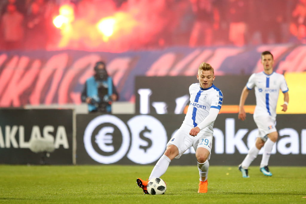 PLOCK 05.05.2018 MECZ 34. KOLEJKA LOTTO EKSTRAKLASA SEZON 2017/18 --- POLISH FOOTBALL TOP LEAGUE MATCH: WISLA PLOCK - LECH POZNAN 0:0 KAMIL JOZWIAK FOT. PIOTR KUCZA/ 400mm.pl