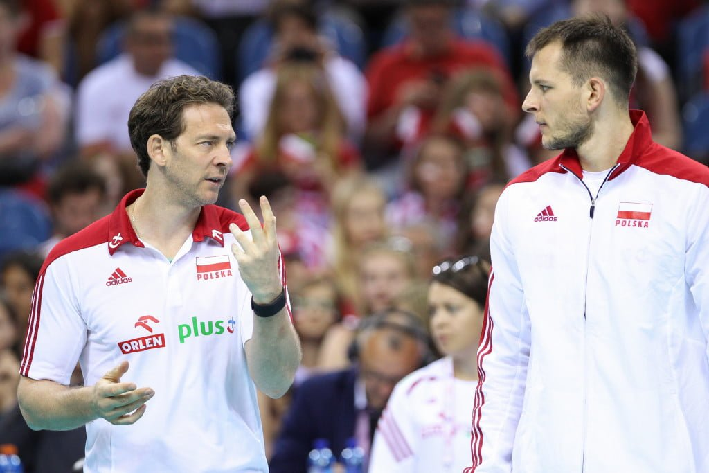 03.07.2015 KRAKOW SIATKOWKA MEZCZYZN LIGA SWIATOWA 2015 FIVB VOLLEYBALL WORLD LEAGUE 2015 MECZ POLSKA - USA ( POLAND - UNITED STATES ) N/Z BARTOSZ KUREK STEPHANE ANTIGA TRENER ( HEAD COACH ) FOT MACIEJ GOCLON / FOTONEWS / NEWSPIX.PL --- Newspix.pl *** Local Caption *** www.newspix.pl mail us: info@newspix.pl call us: 0048 022 23 22 222 --- Polish Picture Agency by Ringier Axel Springer Poland