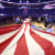 October 17, 2018 - Orlando, FL, USA - Fans unfurl a U.S. flag before the Miami Heat at Orlando Magic game at the Amway Center in Orlando, Fla., on Wednesday, Oct. 17, 2018. (Credit Image: © Stephen M. Dowell/Orlando Sentinel/TNS via ZUMA Wire) FOT.ZUMA/NEWSPIX.PL POLAND ONLY!!! --- Newspix.pl *** Local Caption *** www.newspix.pl  mail us: info@newspix.pl call us: 0048 022 23 22 222 --- Polish Picture Agency by Ringier Axel Springer Poland