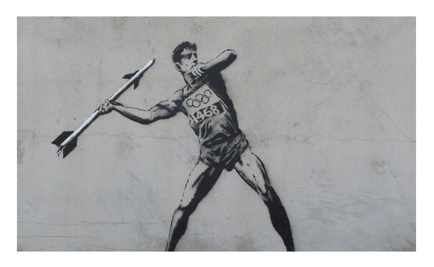 Banksy-Interprets-the-Olympics2