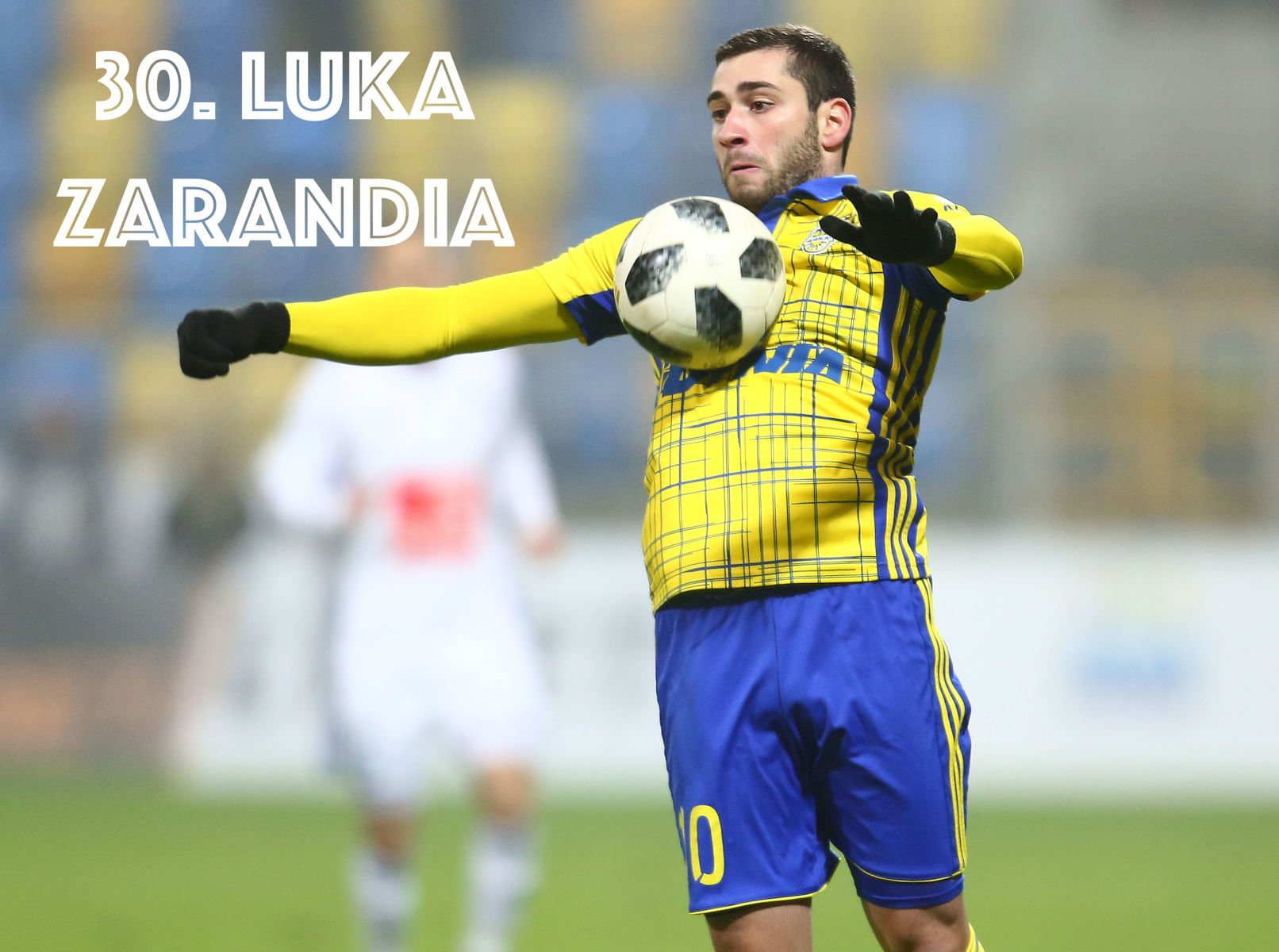 2018.12.21 Gdynia Pilka nozna Lotto Ekstraklasa sezon 2018/2019 Arka Gdynia - Wisla Plock N/z Luka Zarandia Foto Piotr Matusewicz / PressFocus/NEWSPIX.PL 2018.12.21 Gdynia Football Polish Lotto Ekstraklasa season 2018/2019 Arka Gdynia - Wisla Plock Luka Zarandia Credit: Piotr Matusewicz / PressFocus --- Newspix.pl