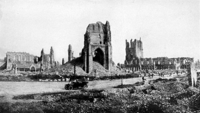 Collier's_1921_World_War_-_Ypres_at_close_of_war