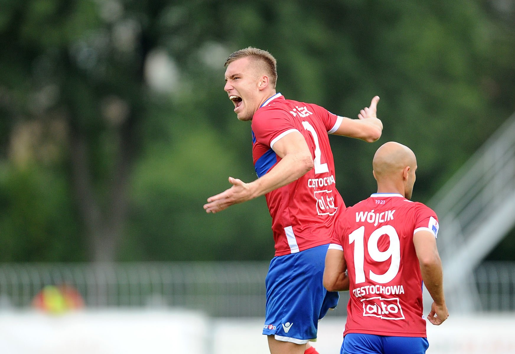 2017.08.26 Czestochowa Pilka nozna Nice 1 Liga sezon 2017/2018 Rakow Czestochowa - Zaglebie Sosnowiec N/z bramka gol radosc 1:2 Tomas Petrasek Foto Lukasz Sobala / PressFocus 2017.08.26 Czestochowa Football Polish Nice First League Season 2017/2018 Rakow Czestochowa - Zaglebie Sosnowiec bramka gol radosc 1:2 Tomas Petrasek Credit: Lukasz Sobala / PressFocus / NEWSPIX.PL --- Newspix.pl *** Local Caption *** www.newspix.pl mail us: info@newspix.pl call us: 0048 022 23 22 222 --- Polish Picture Agency by Ringier Axel Springer Poland