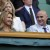 Formers tennis champions Andre Agassi and his wife Steffi Graf attend the quarter final round match of the Men 2012 Wimbledon Championships in Wimbledon, UK on July 4rdth, 2012. Photo by Corinne Dubreuil/ABACAPRESS.COM    londyn tenis turniej tenisowy fot: abaca/newspix.pl poland only!!! --- Newspix.pl *** Local Caption *** www.newspix.pl  mail us: info@newspix.pl call us: 0048 022 23 22 222 --- Polish Picture Agency by Ringier Axel Springer Poland