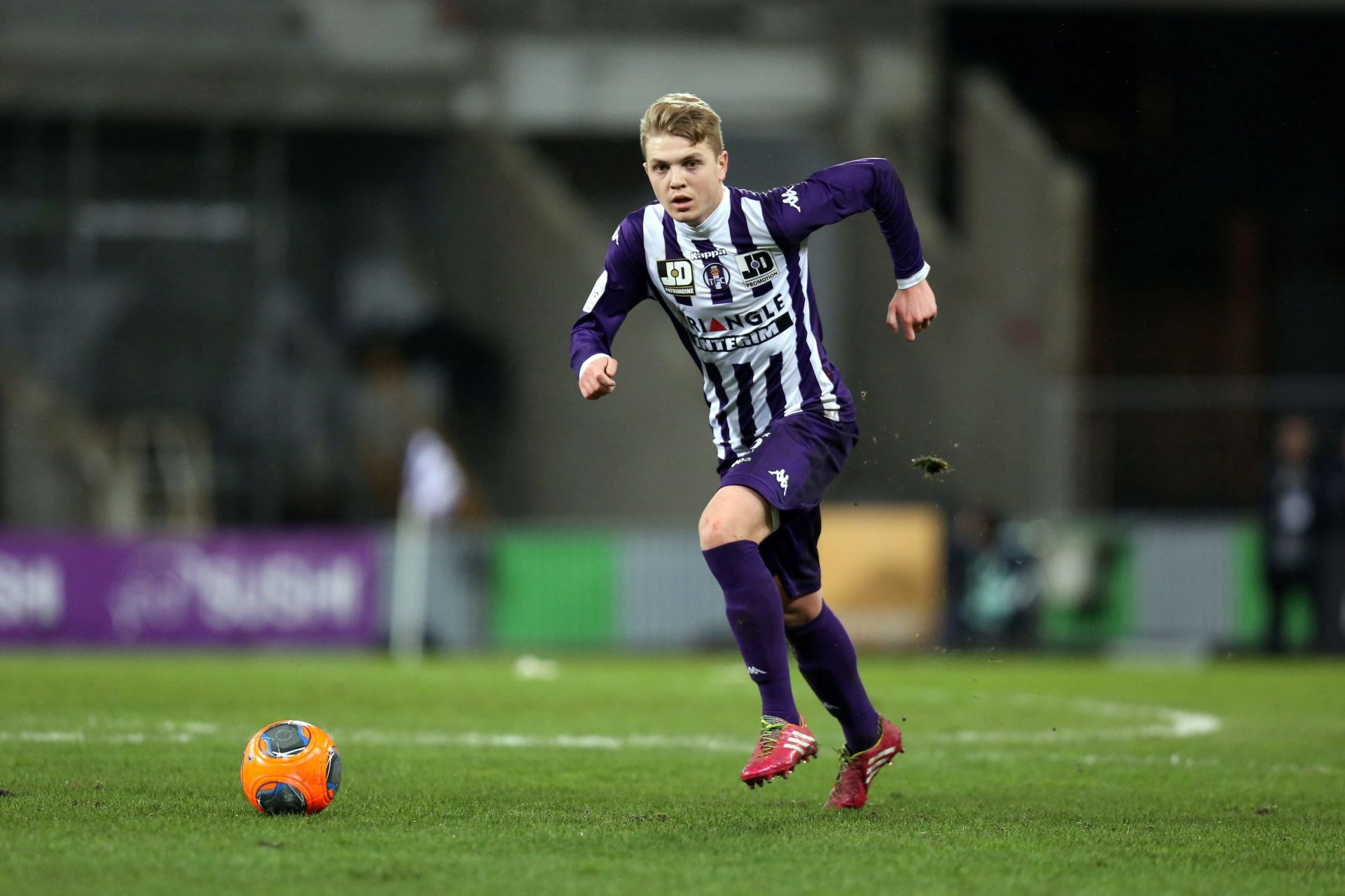 Dominik Furman - 11.02.2014 - Toulouse / Bastia - Match en Retard - 22eme journee de Ligue 1 - Photo : Manuel Blondeau / Icon Sport LIGA WLOSKA PILKA NOZNA SEZON 2014/2015 FOT. ICON SPORT/NEWSPIX.PL POLAND ONLY!!! --- Newspix.pl *** Local Caption *** www.newspix.pl mail us: info@newspix.pl call us: 0048 022 23 22 222 --- Polish Picture Agency by Ringier Axel Springer Poland