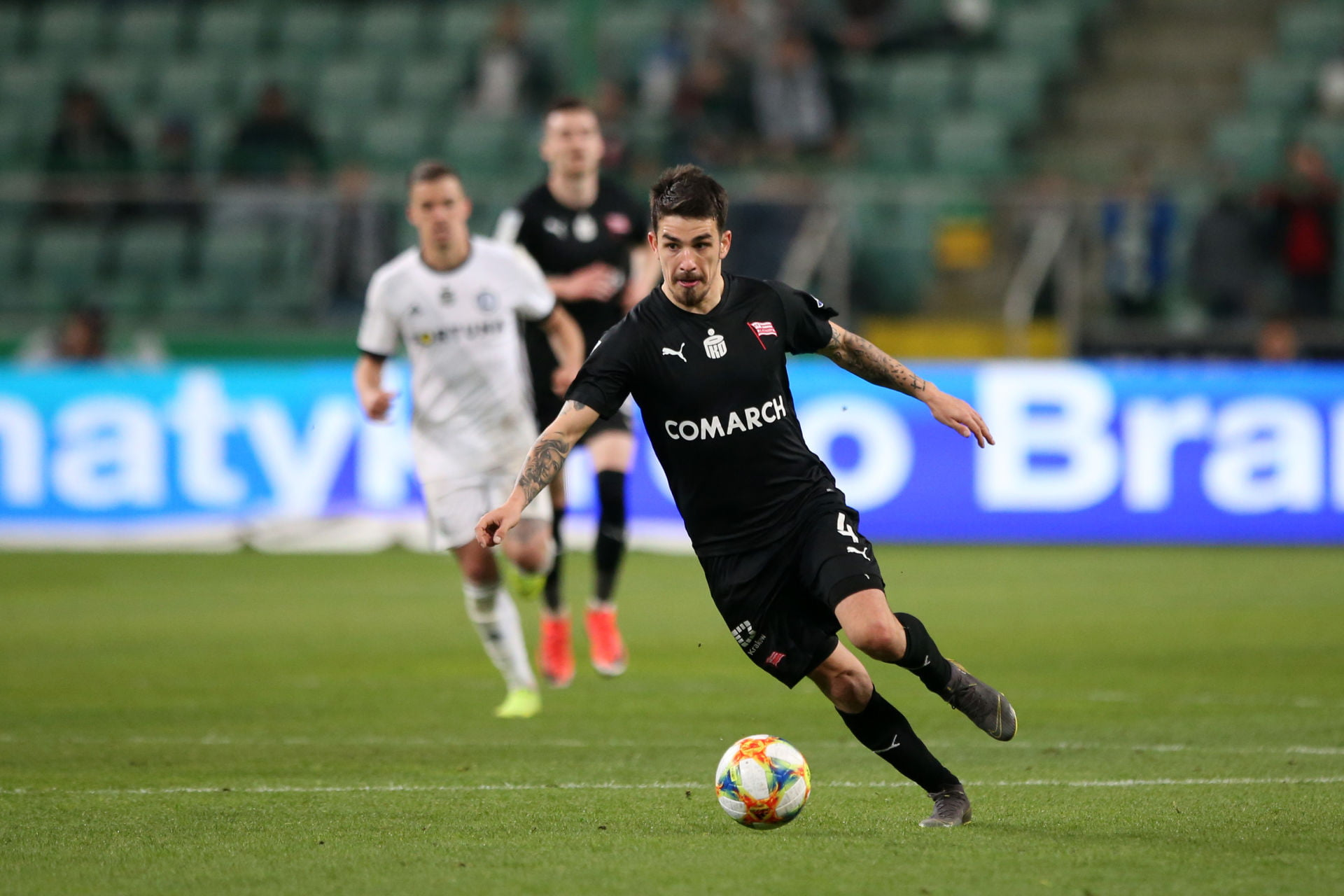 WARSZAWA 20.04.2019 MECZ 31. KOLEJKA LOTTO EKSTRAKLASA SEZON 2018/19: LEGIA WARSZAWA - CRACOVIA KRAKOW 1:0 --- POLISH FOOTBALL TOP LEAGUE MATCH: LEGIA WARSAW - CRACOVIA CRACOW 1:0 SERGIU HANCA FOT. PIOTR KUCZA/ 400mm.pl