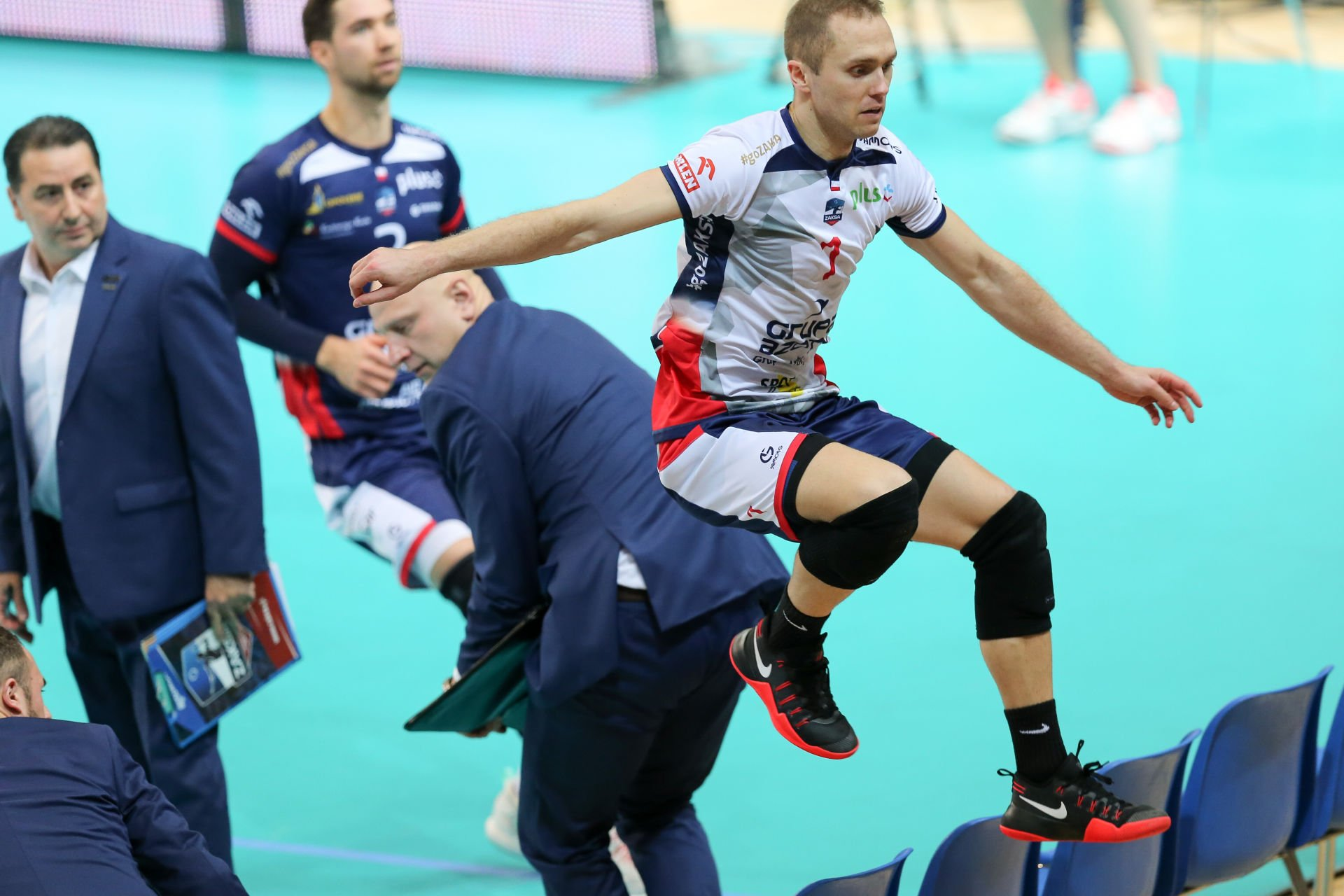 14.12.2016, Warszawa, siatkowka, Plus Liga, ONICO AZS Politechnika Warszawska - ZAKSA Kedzierzyn Kozle, Pawe³ Zatorski (ZAKSA), fot. Tomasz Jastrzebowski / Foto Olimpik / NEWSPIX.PL --- Newspix.pl *** Local Caption *** www.newspix.pl mail us: info@newspix.pl call us: 0048 022 23 22 222 --- Polish Picture Agency by Ringier Axel Springer Poland