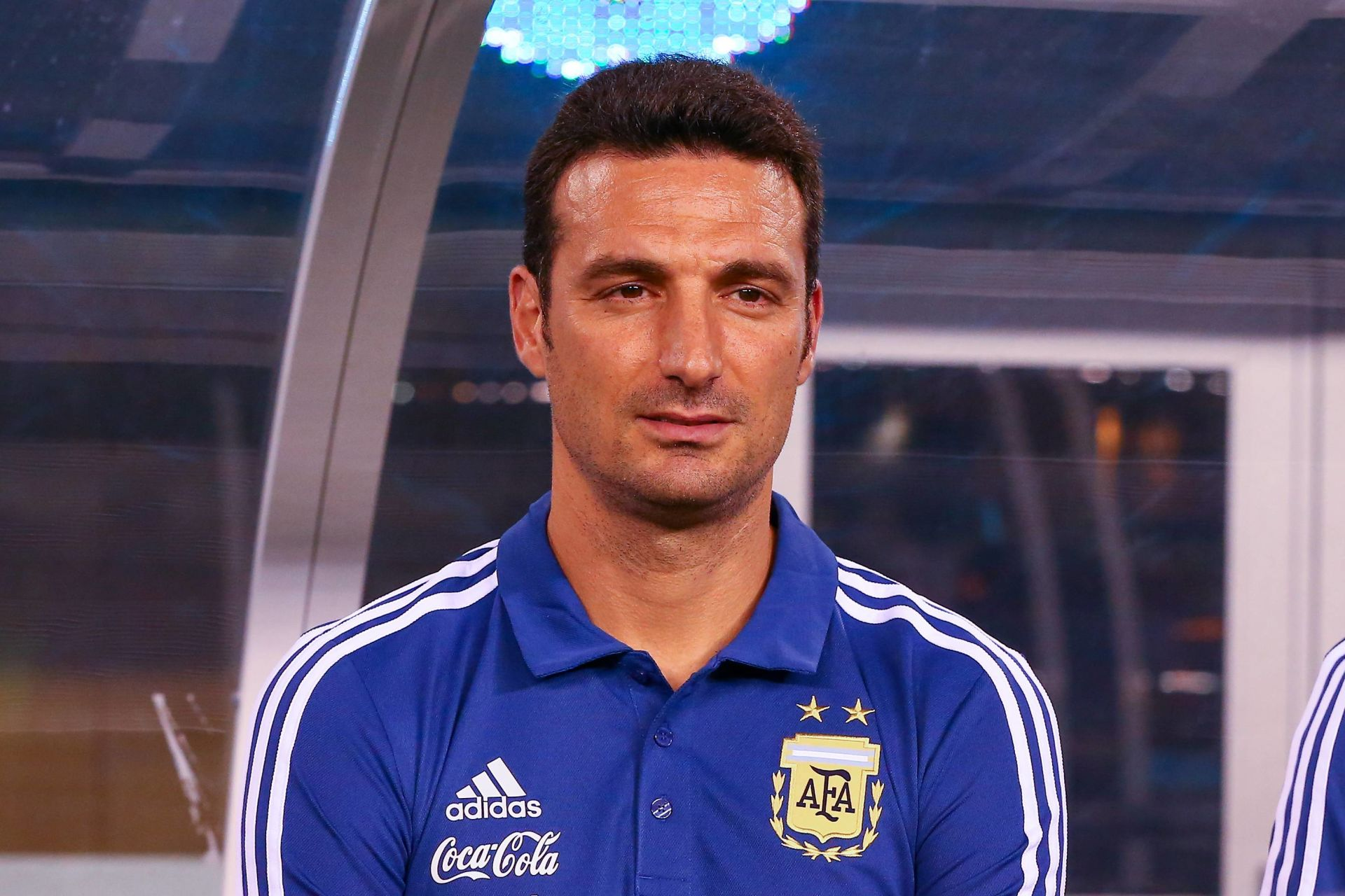 September 11, 2018 - East Rutherford, NJ, U.S. - EAST RUTHERFORD, NJ - SEPTEMBER 11: Argentina interim head coach Lionel Scaloni prior to the International Friendly Soccer game between Argentina and Colombia on September 11, 2018 at MetLife Stadium in East Rutherford, NJ. (Photo by Rich Graessle/Icon Sportswire) (Credit Image: © Rich Graessle/Icon SMI via ZUMA Press) FOT. ZUMA / NEWSPIX.PL POLAND ONLY !!! --- Newspix.pl *** Local Caption *** www.newspix.pl mail us: info@newspix.pl call us: 0048 022 23 22 222 --- Polish Picture Agency by Ringier Axel Springer Poland