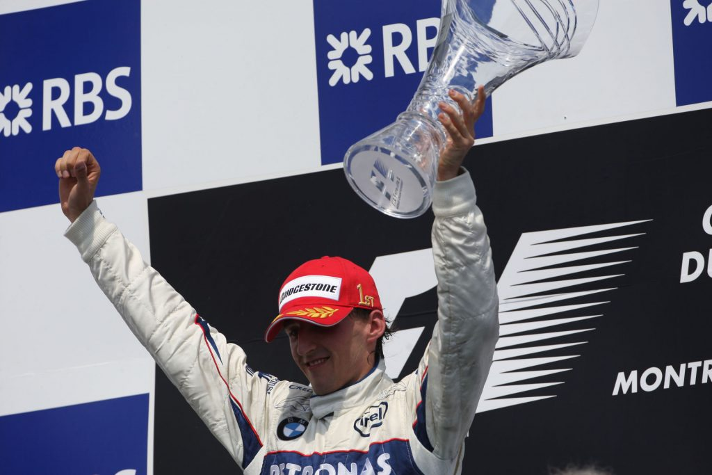 08.06.2008 Montreal, Canada, 1st place Robert Kubica (POL), BMW Sauber F1 Team - Formula 1 World Championship, Rd 7, Canadian Grand Prix, Sunday Podium - www.xpb.cc, EMail: info@xpb.cc - copy of publication required for printed pictures. Every used picture is fee-liable. © Copyright: Photo4 / xpb.cc - LEGAL NOTICE: THIS PICTURE IS NOT FOR ITALY / Newspix.pl POLAND ONLY
