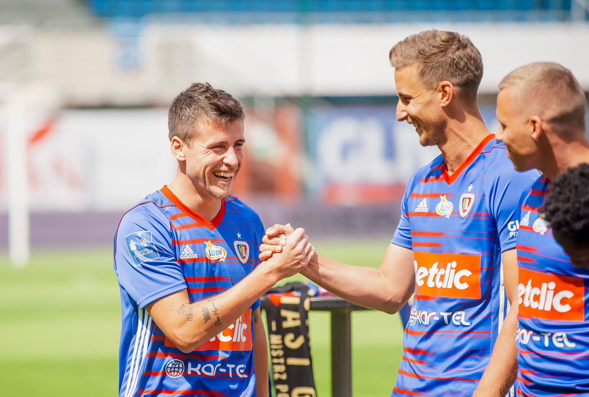 Gliwicei 06.07.2019 Ekstraklasa. Piast Gliwice. Prezentacja druzyny. n/z. Dani Aquino . Fot. Irek Dorozanski / NEWSPIX.PL --- Newspix.pl *** Local Caption *** www.newspix.pl mail us: info@newspix.pl call us: 0048 022 23 22 222 --- Polish Picture Agency by Ringier Axel Springer Poland