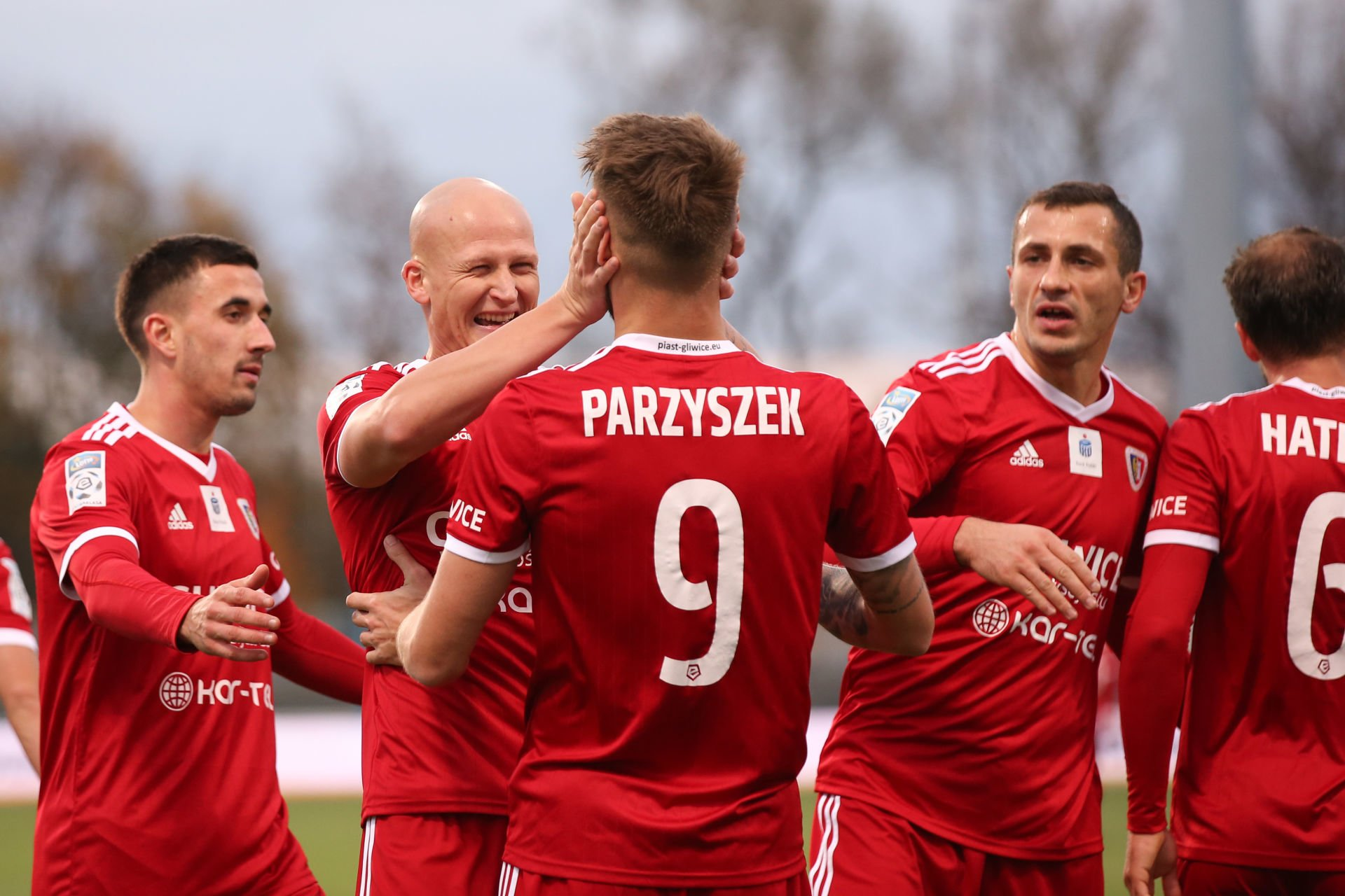 PLOCK 27.10.2018 MECZ 13. KOLEJKA LOTTO EKSTRAKLASA SEZON 2018/19 --- POLISH FOOTBALL TOP LEAGUE MATCH: WISLA PLOCK - PIAST GLIWICE ALEKSANDAR SEDLAR JAKUB CZERWINSKI PIOTR PARZYSZEK TOMASZ JODLOWIEC FOT. PIOTR KUCZA/ 400mm.pl