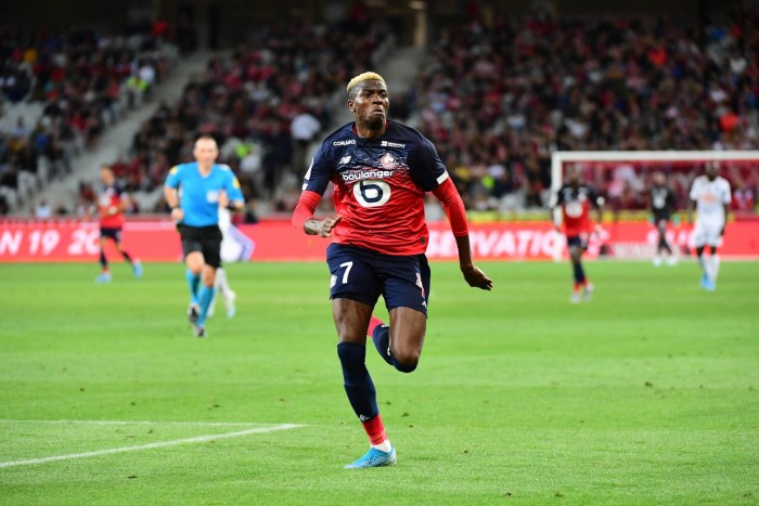 Victor OSIMHEN of Lille during the Ligue 1 match between Lille and Angers at Stade Pierre Mauroy on September 13, 2019 in Lille, France. (Photo by Dave Winter/Icon Sport) FOT. ICON SPORT / NEWSPIX.PL POLAND ONLY !!! --- Newspix.pl *** Local Caption *** www.newspix.pl mail us: info@newspix.pl call us: 0048 022 23 22 222 --- Polish Picture Agency by Ringier Axel Springer Poland