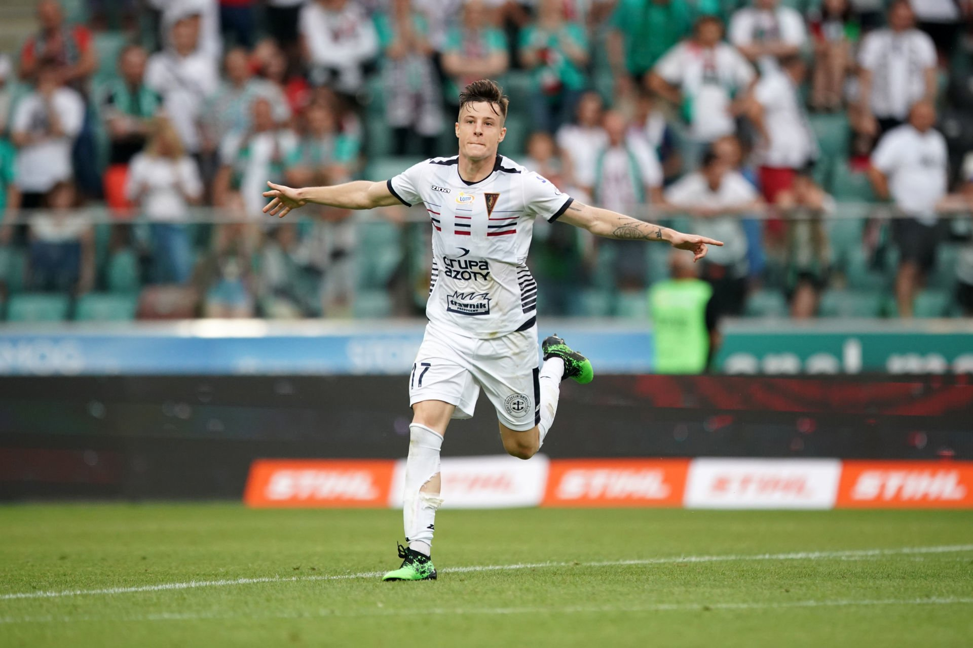 WARSZAWA 21.07.2019 MECZ 1. KOLEJKA PKO EKSTRAKLASA SEZON 2019/20 --- POLISH FOOTBALL TOP LEAGUE MATCH IN WARSAW: LEGIA WARSZAWA - POGON SZCZECIN ZVONIMIR KOZULJ FOT. PIOTR KUCZA/ 400mm.pl