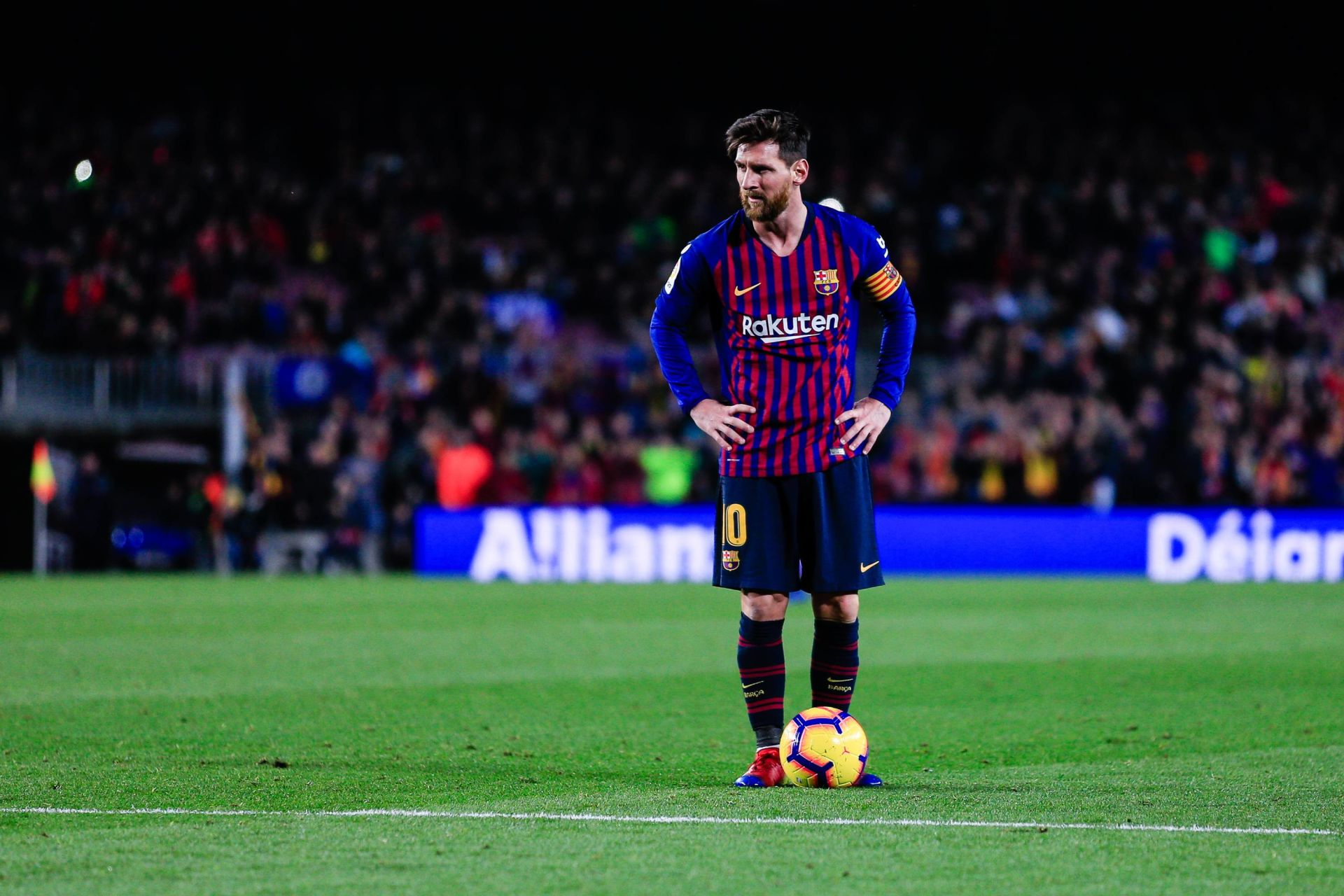 December 22, 2018 - Barcelona, BARCELONA, Spain - 10 Leo Messi of FC Barcelona during the Spanish championship La Liga football match between FC Barcelona and Celta de Vigo on December 22, 2018 at Camp Nou stadium in Barcelona, Spain. (Credit Image: © AFP7 via ZUMA Wire) LIGA HISZPANSKA PILKA NOZNA SEZON 2018/2019 FOT. ZUMA/NEWSPIX.PL POLAND ONLY! --- Newspix.pl *** Local Caption *** www.newspix.pl mail us: info@newspix.pl call us: 0048 022 23 22 222 --- Polish Picture Agency by Ringier Axel Springer Poland