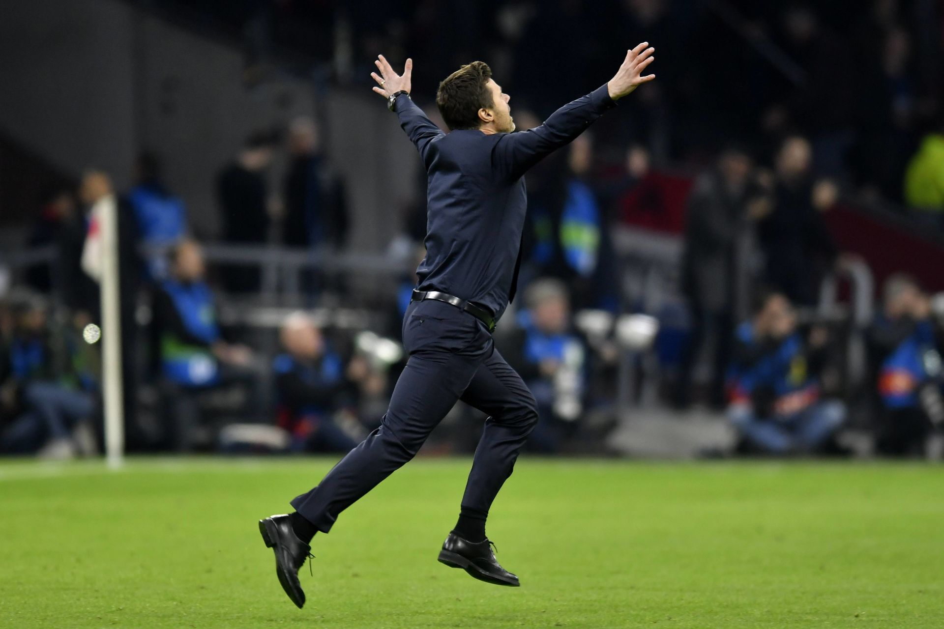 Football: Uefa Champions League 2018/2019 semi final Ajax-Tottenham Hotspur on May 8, 2019 in Amsterdam, The Netherlands Coach Mauricio Pochettino of Tottenham Hotspur (Photo by Sander Chamid/SCS/AFLO) FOT. AFLO / NEWSPIX.PL POLAND ONLY !!! --- Newspix.pl *** Local Caption *** www.newspix.pl mail us: info@newspix.pl call us: 0048 022 23 22 222 --- Polish Picture Agency by Ringier Axel Springer Poland
